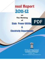 Annual Report on state working Utitlites