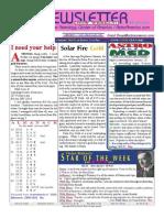 ASTROAMERICA NEWSLETTER DATED FEBRUARY 26, 2013