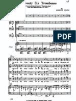 Seventy Six Trombones Full mens choir