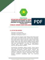 Contoh Proposal Kegiatan Lomba Di Bulan Ramadhan Temukan Contoh