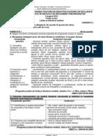 Tit 066 Limba Literatura Romana P 2012 Var 03 LRO