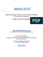 Appeal to ACLU