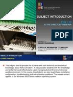EDN122_00 Active diractory Windows