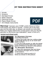 Knife Sharpeners s 1 Instructions