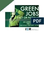 IER Study - Green Jobs