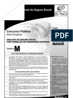 Analista CadernoM Eng Eletrica