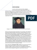 o Protestantismo