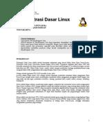 Administrasi Dasar Linux