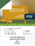 Origin of States