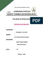 Personal Id Ad y Madurez II