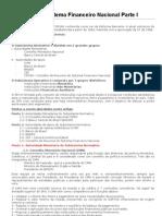 Estrutura Do Sistema Financeiro Nacional - Parte I