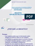Iniciativa Escuelas Saludables -Construyendo Requisitos Minimos