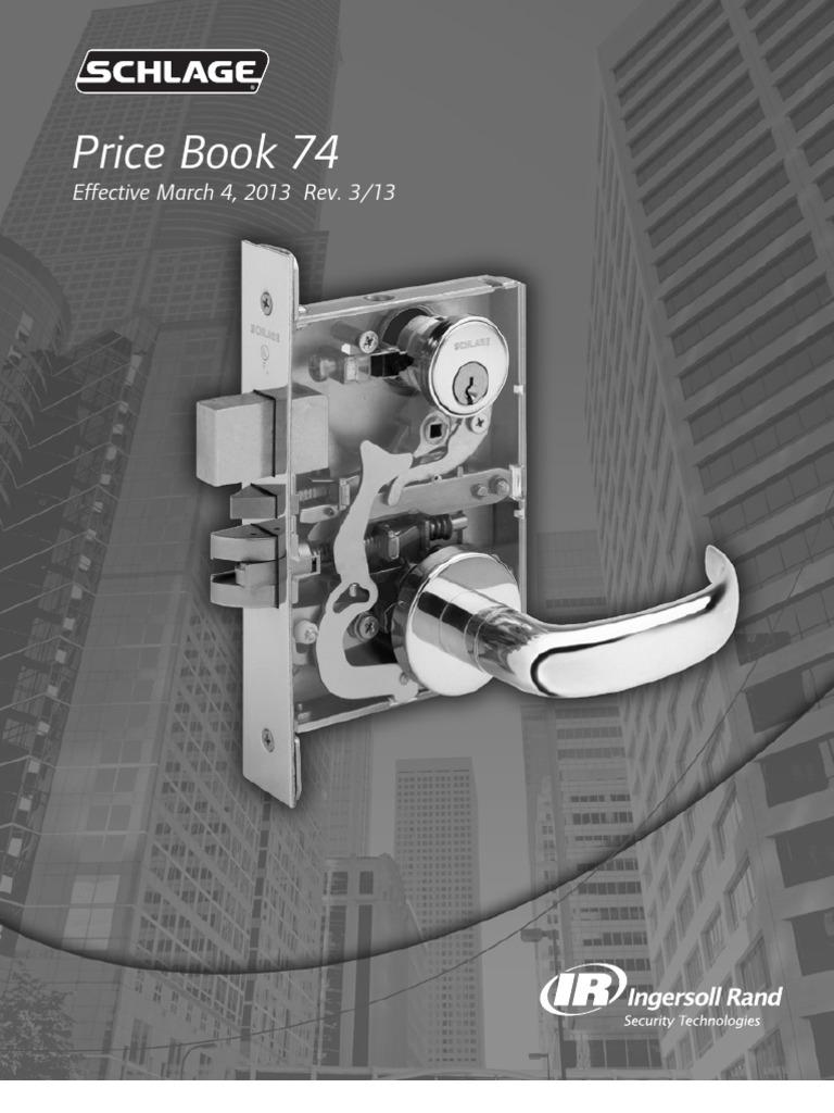 Schlage Pb74 2013 Cargo Invoice Key Switch 650 Wiring Diagram