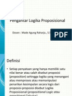 2. pengantar logika proposisional