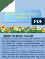 Polemik Pendidikan Di Indonesia