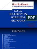DATA SECURITY IN WIRELESS NETWORK.ppt