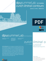 Zurich Liminal Contours. ©2012 series