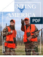 Hunting in America Economic Force for Conservation