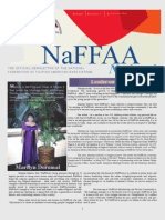 NaFFAA National Newsletter, February 2013