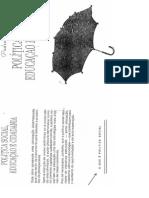 Política social, educação e cidadania - Pedro Demo (O que é política social)
