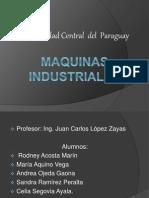 Maquinas Industriales_ PRESENTACION