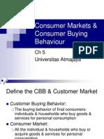 05 Consumer Markets & Consumer Buying Behaviour
