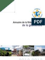 annuaire filière française de la géothermie