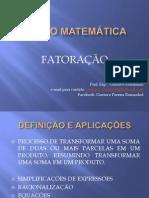 Curso de Matemática - FATORAÇÃO