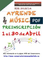 APRENDE  MÚSICA 2013-14
