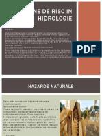 Fenomene de Risc in HidroloGIE