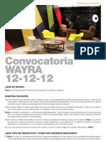 wayra_convocatoria_proyectos