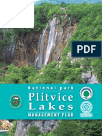 Management Plan of Plitvice Lakes