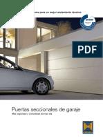 Catalogo Puertas de Garaje Seccionales