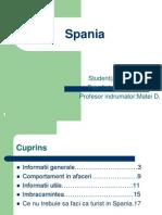 Proiect Spania-comunicare in Afaceri