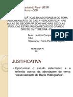 Universidade Estadual do Piauí- UESPI-DEFESA monografia