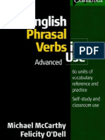 English Phrasal Verbs Advanced