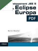 Développement JEE 5 avec Eclipse Europa {9782212120615}