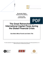 3. the Great Retrenchment International Capital Flows During the Global Financial Crisis