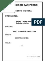informe cosntrucciones 1