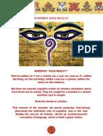 Buddhist Sole Reality