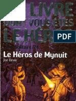 Loup Solitaire 23 - Le Heros de Mynuit