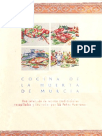 Cocina de La Huerta de Murcia