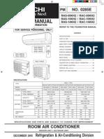 3. Hitachi RAS-10KH2 - Manual Service - lb. engleza.pdf
