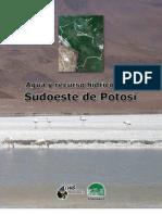 Agua y recursos hídrico en el Sudoeste de Potosí