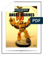 Angry Marines Codex Beta Warhammer 40000