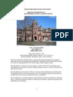 Allis Mansion Request for Proposals