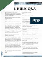 FAQ - Space Hulk - Oct 2009