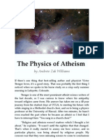 Andrew Zak Williams -- The Physics of Atheism