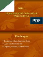 BAB 1 pengajian islam
