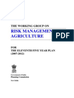 Risk Management in Agriculture